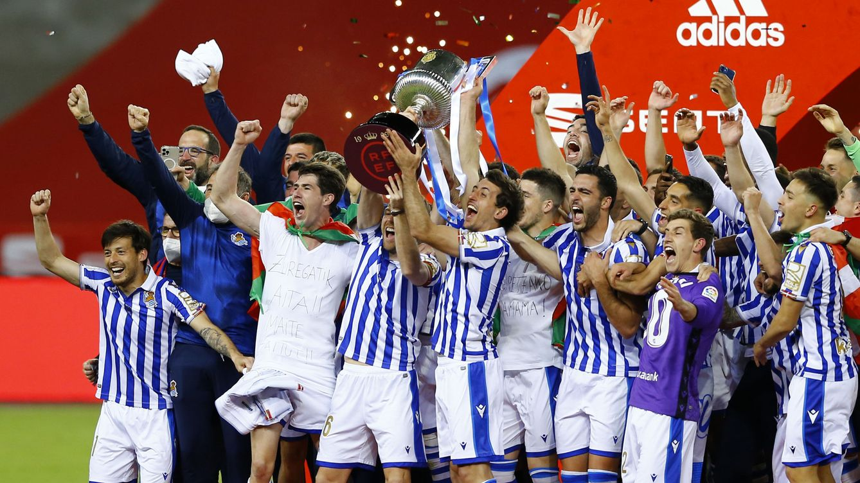 La Real Sociedad tumba al Athletic en la final de Copa y gana un título 34 años después (0-1)