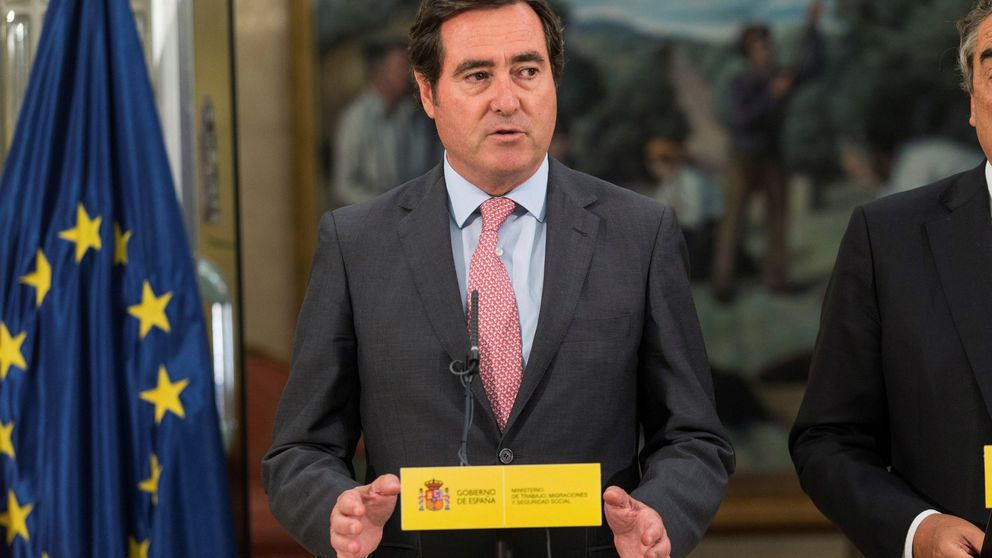 Garamendi presenta oficialmente su candidatura a la presidencia de la CEOE