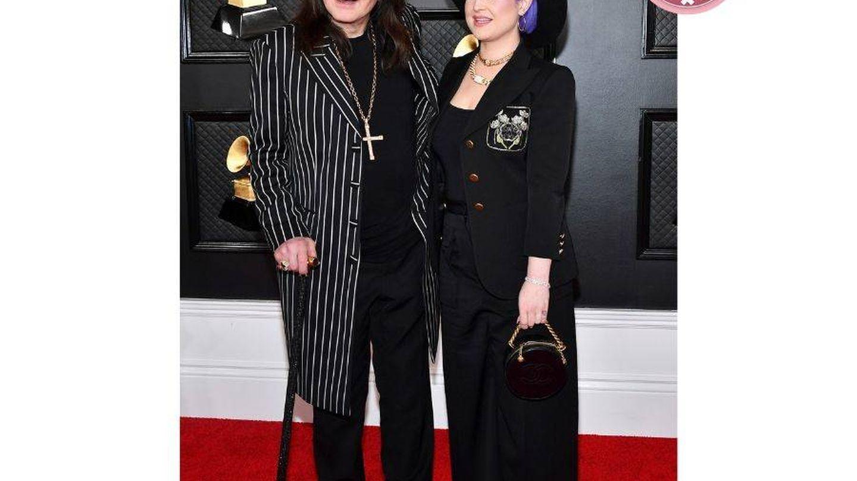 Ozzy y Kelly Osbourne. (Getty)