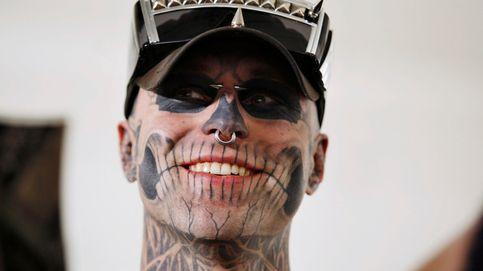 Hallan muerto al modelo Rick Genest, conocido como 'The Zombie Boy'