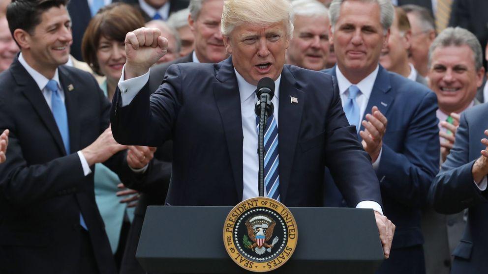 Trump ya tiene el sí de la Cámara de Baja para desmantelar el Obamacare