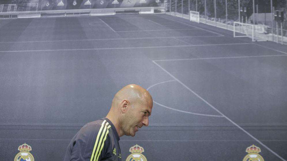 Foto: Zidane, entrenador del Real Madrid. (EFE)