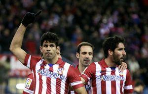 Diego Costa y Negredo marcan el paso en la delantera de España