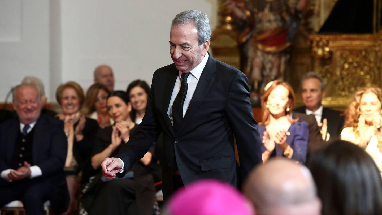 José Luis Perales, cuando recibió la Medalla de Oro de las Bellas Artes. (EFE)