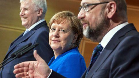 Acuerdo 'in extremis' en Berlín: Merkel y Schulz pactan una nueva gran coalición