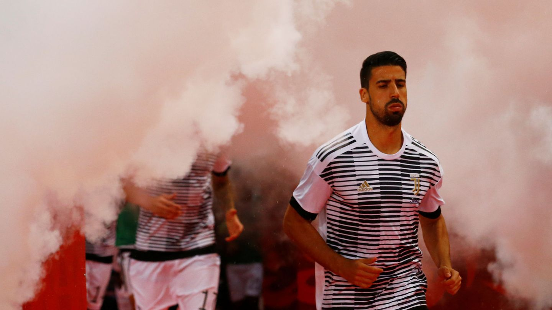 Khedira, con la Juventus de Turín. (Reuters)