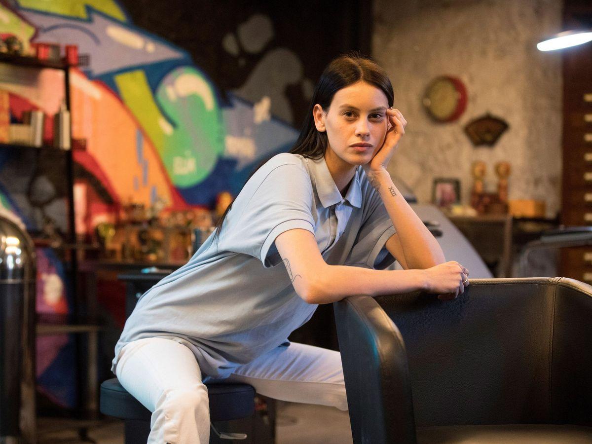 Foto: Milena Smit, en el rodaje de 'No matarás'. (EFE)