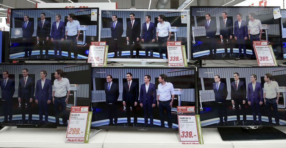 Foto: Mariano Rajoy, Pedro Sánchez, Albert Rivera y Pablo Iglesias, en el debate electoral del 13 de junio de 2016. (Reuters)