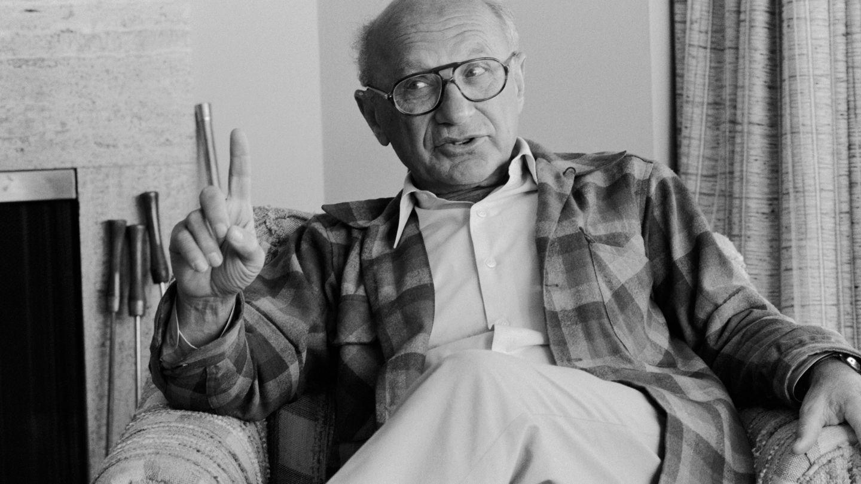 Milton Friedman. (CORBIS)