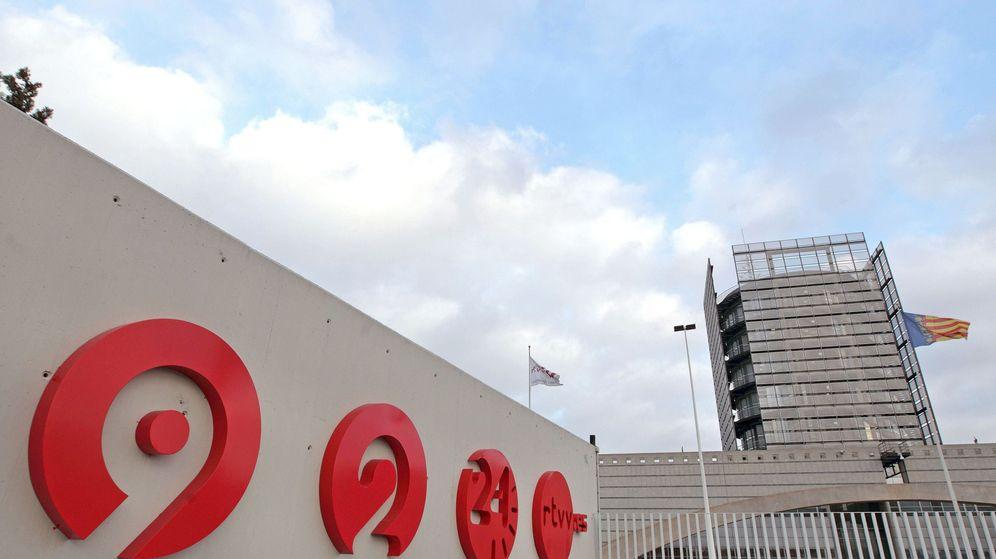 Foto:  Fotografía de archivo del centro de Televisión Valenciana en Burjassot. (EFE)