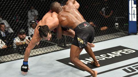 UFC 258: brutal KO de Kamaru Usman a su amigo Gilbert Burns, su rival más difícil