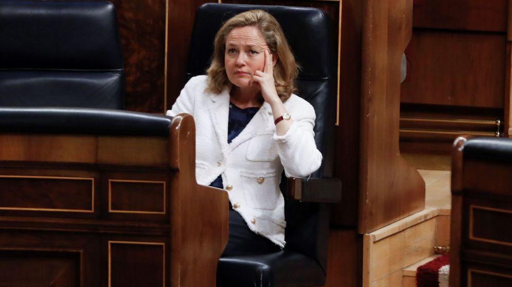 Foto:  La vicepresidenta de asuntos económicos Nadia Calviño (EFE)
