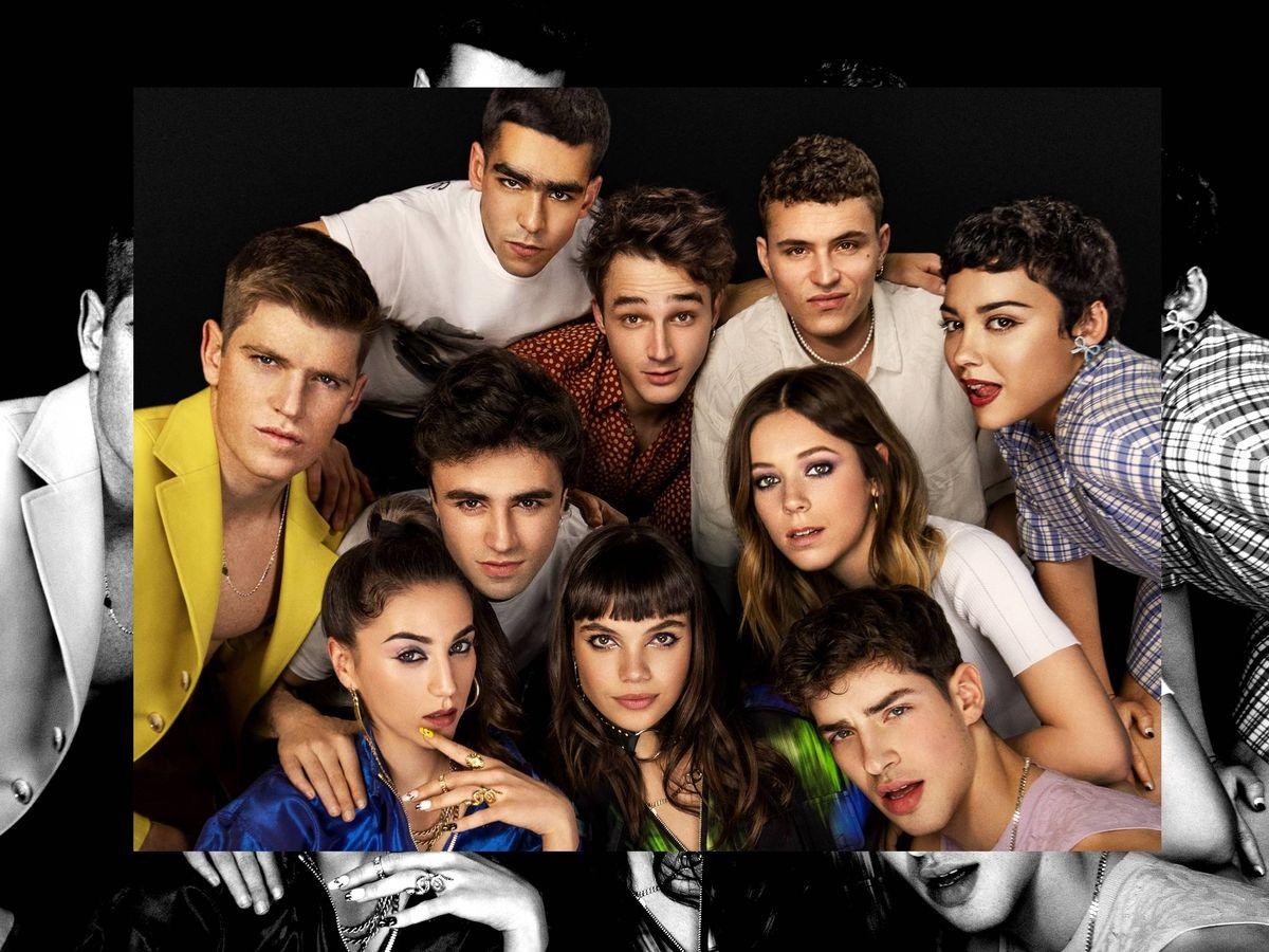 Foto: Actores de la temporada 4 de'Élite'. (Netflix)