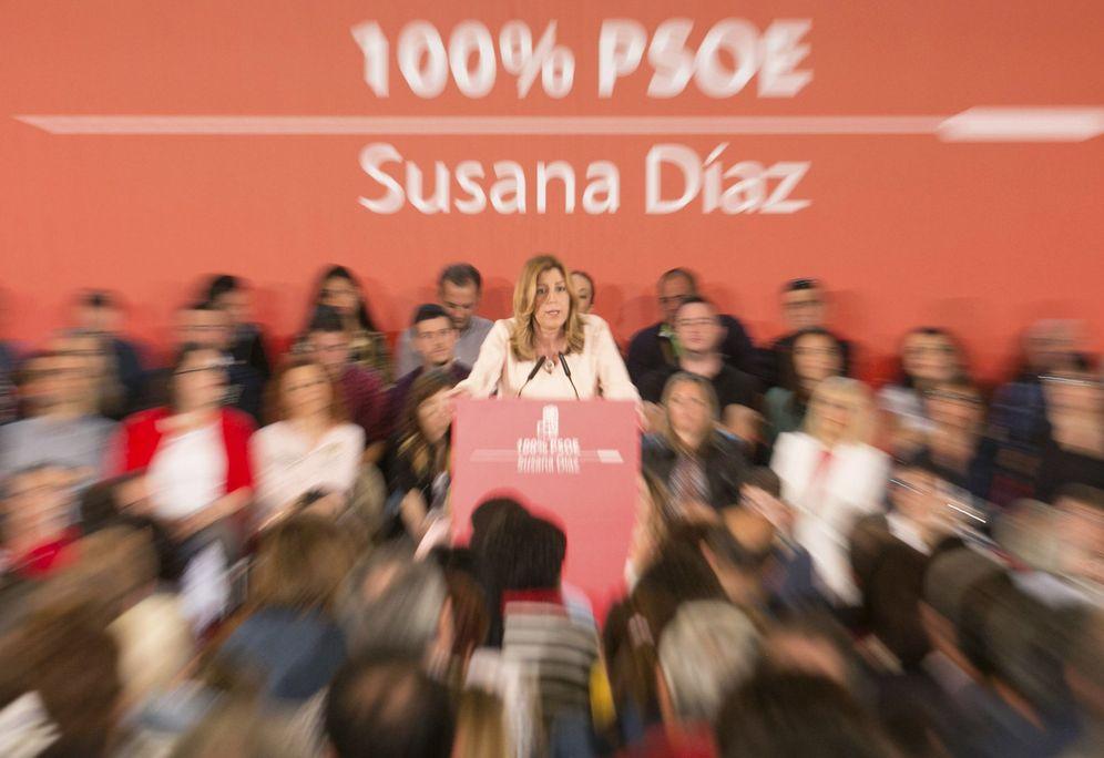 Foto: Susana Díaz, el pasado 7 de mayo en Zaragoza. (EFE)