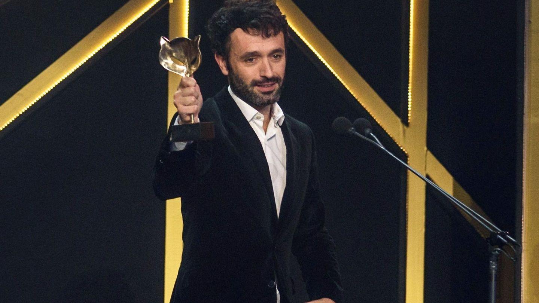 Sorogoyen recoge el Premio Feroz en 2019. (EFE)