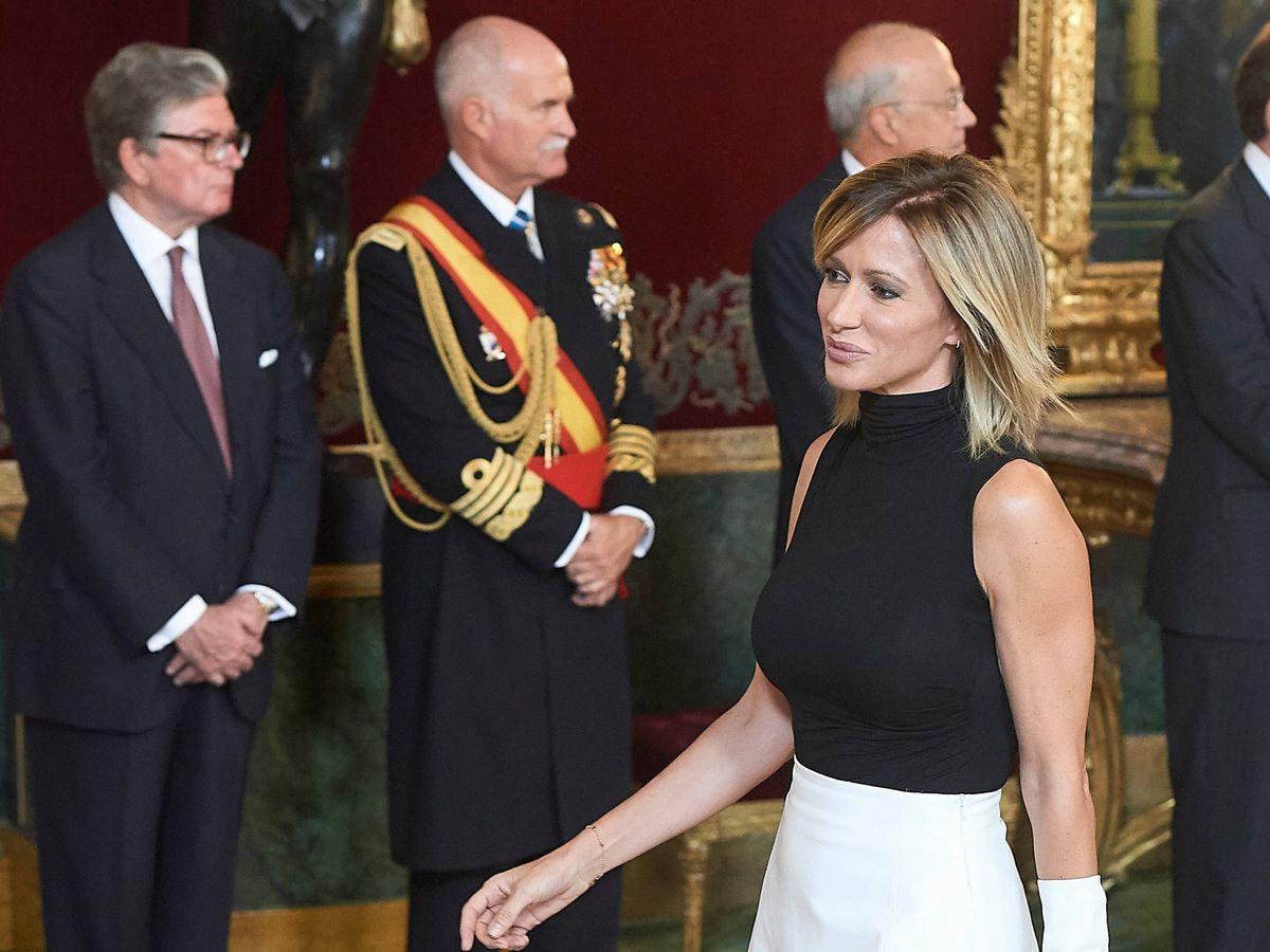 Foto: Susanna Griso, en el Palacio Real. (Limited Pictures)