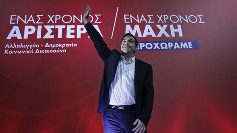 Tsipras defiende su primer año de reformas con la calle en plena ebullición