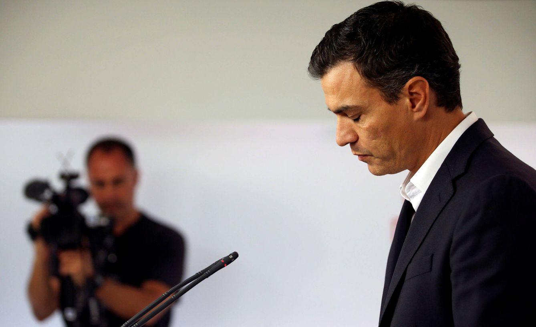 Pedro Sánchez comunica su dimisión después del tumultuoso comité federal del pasado 1 de octubre. (Reuters)