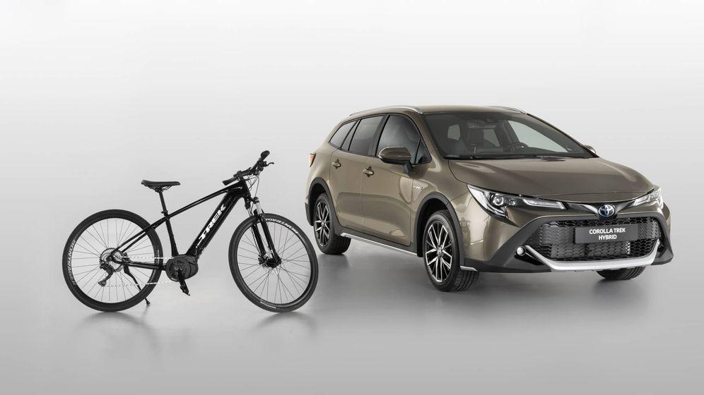 Foto: Los compradores de esta versión del Corolla tendrán oferta en la compra de una bicicleta Trek.