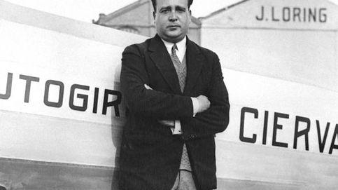 El fascista Juan de la Cierva: el Gobierno borra del mapa al inventor del autogiro