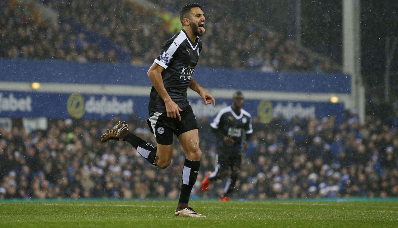 Foto: Mahrez lleva 13 goles en la Premier League (Reuters/Phil Noble)