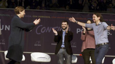 Ada Colau se erige en coprotagonista de la campaña de Podemos junto a Iglesias