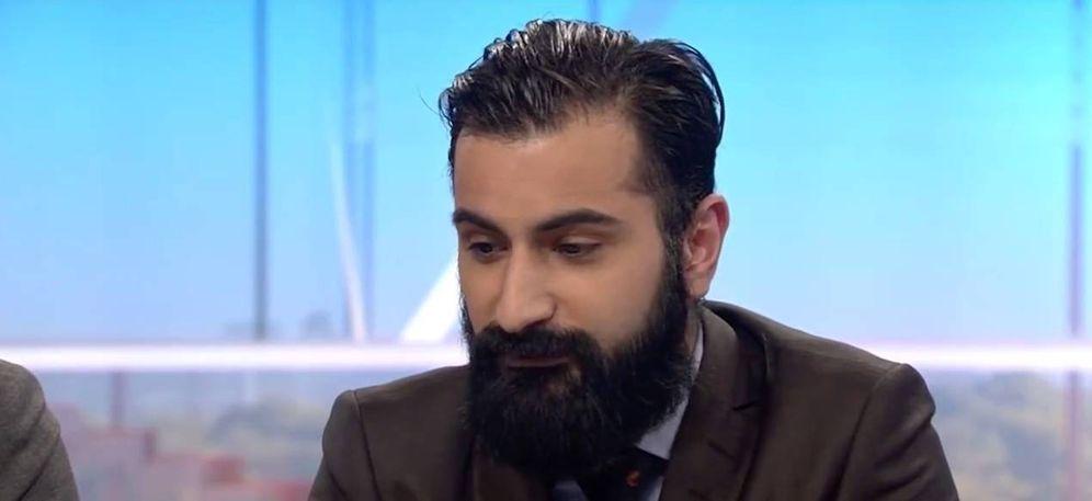 Foto: El parlamentario Hanif Bali, el político más controvertido de Suecia. (YoutTube.com)