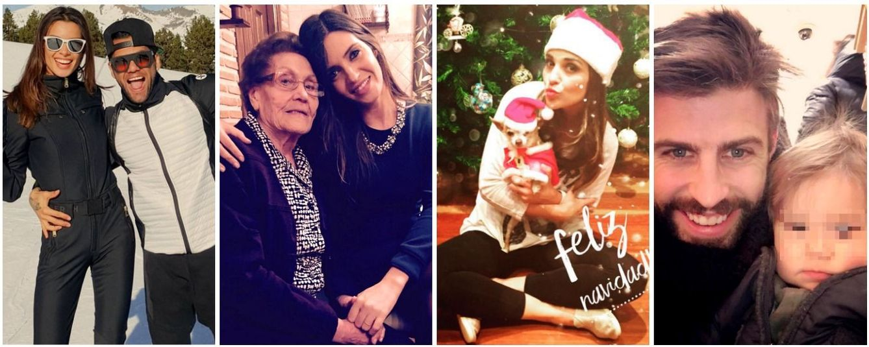 Foto: La Nochebuena de los famosos