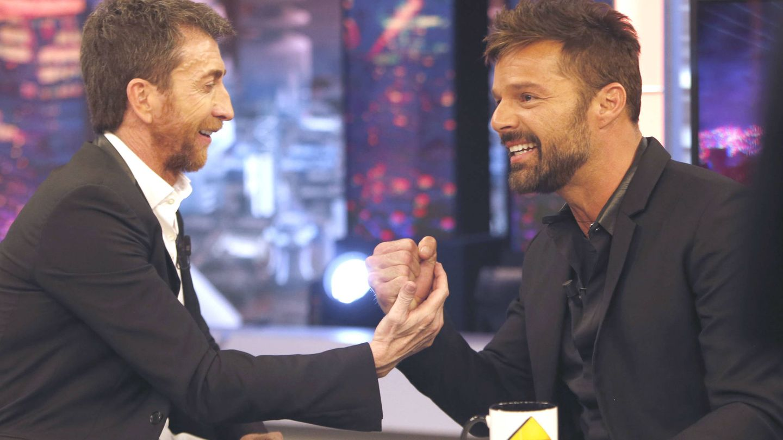 Ricky Martin con Pablo Motos. (Gtres)