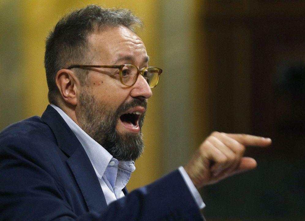 Foto: El portavoz de Ciudadanos, Juan Carlos Girauta, criticado por un tuit contra Elvira Lindo. (EFE)