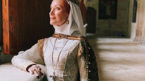 Jane Seymour revoluciona Cuéllar con un rodaje histórico