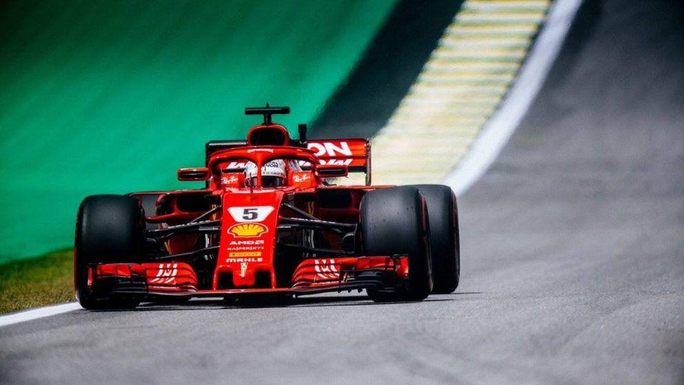 El cachondo mensaje de Vettel a su equipo por un problema entre las piernas