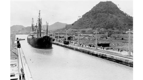 La historia del Canal de Panamá, en imágenes