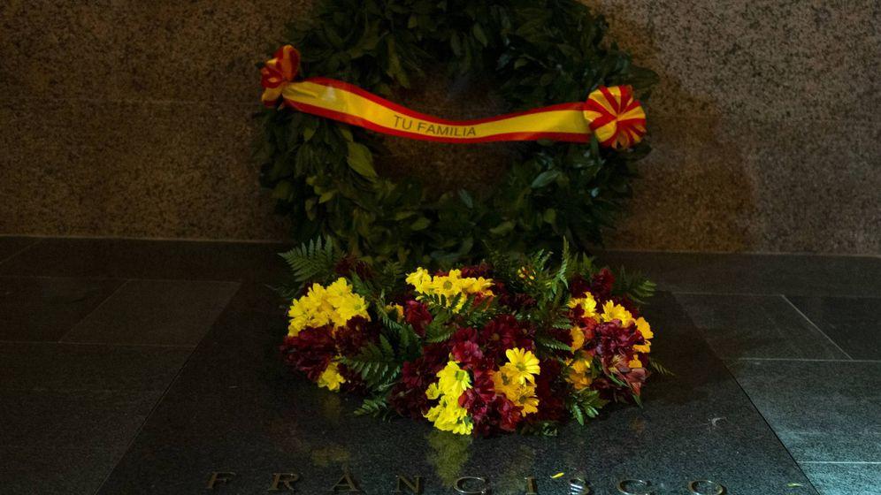 Foto: Tumba de Franco en Mingorrubio. (Secretaría de Estado de Comunicación)