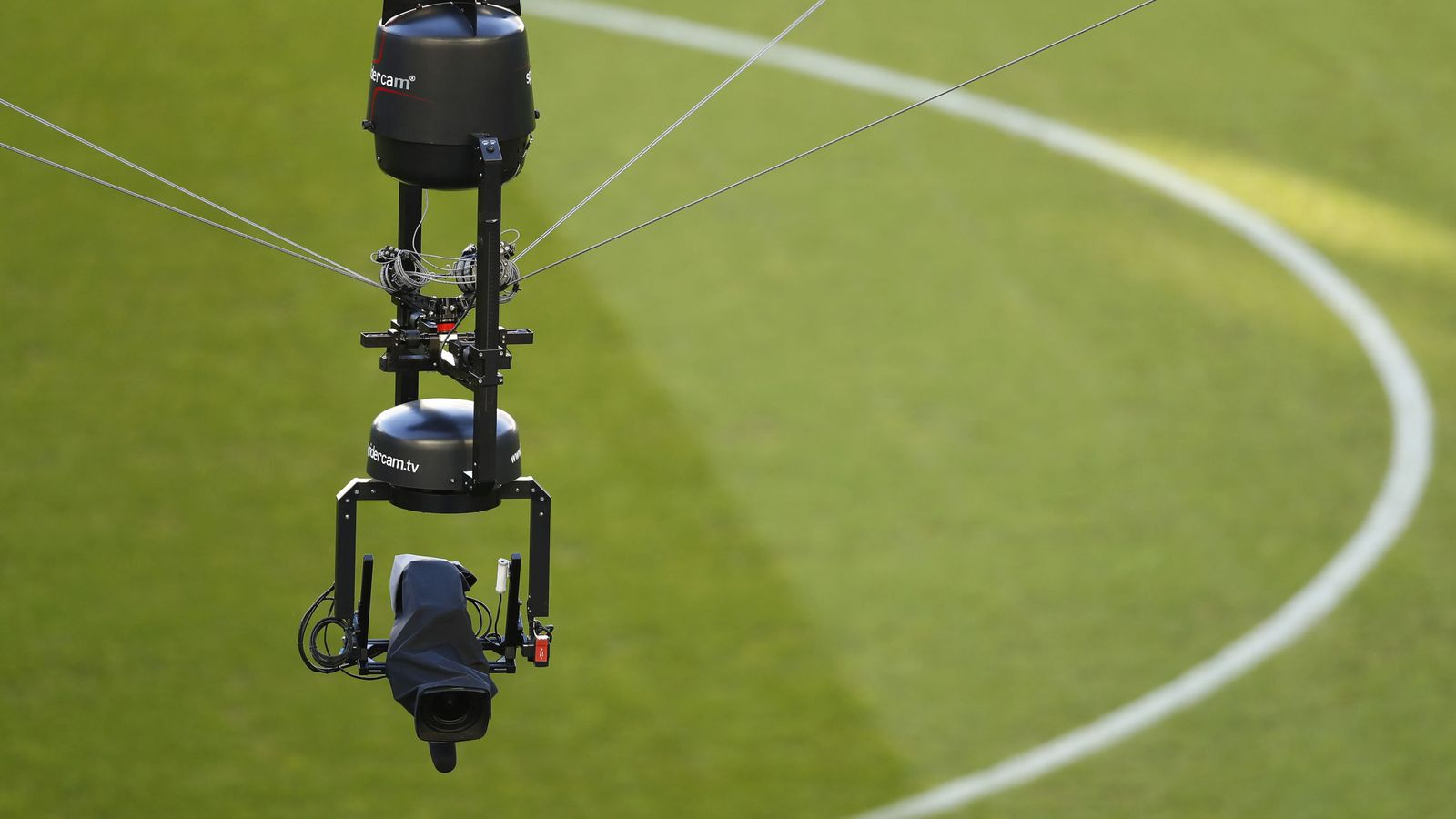 Foto: La Spider Cam, una de las tecnologías más avanzadas. (Reuters)