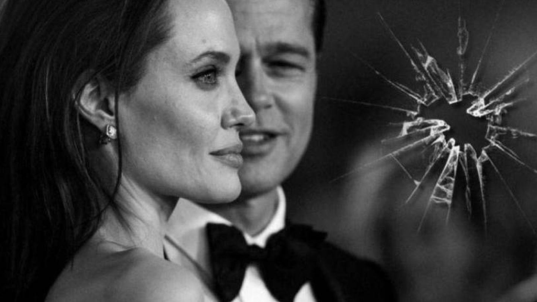 Angelina Jolie y Brad Pitt en un fotomontaje realizado en Vanitatis.