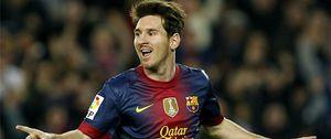Foto: Messi sentencia al Zaragoza con un doblete que le acerca al récord de 'Torpedo' Muller