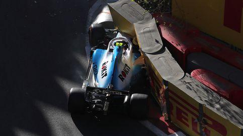 Fórmula 1 en directo: Leclerc la lía y se estrella contra el muro en la Q2 de Bakú