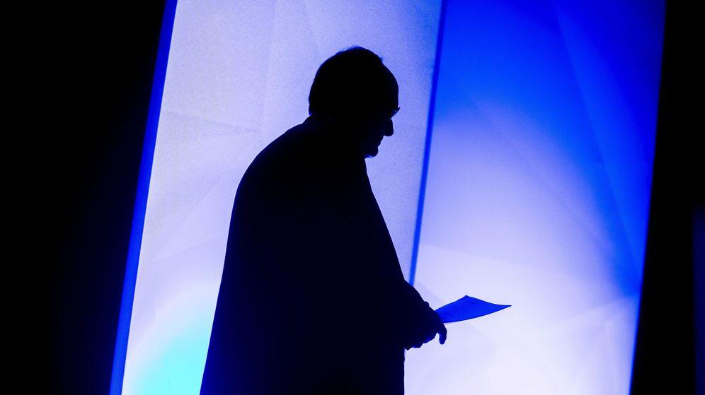 Foto: Perfil del gobernador del Banco de España, Luis Linde. (EFE)