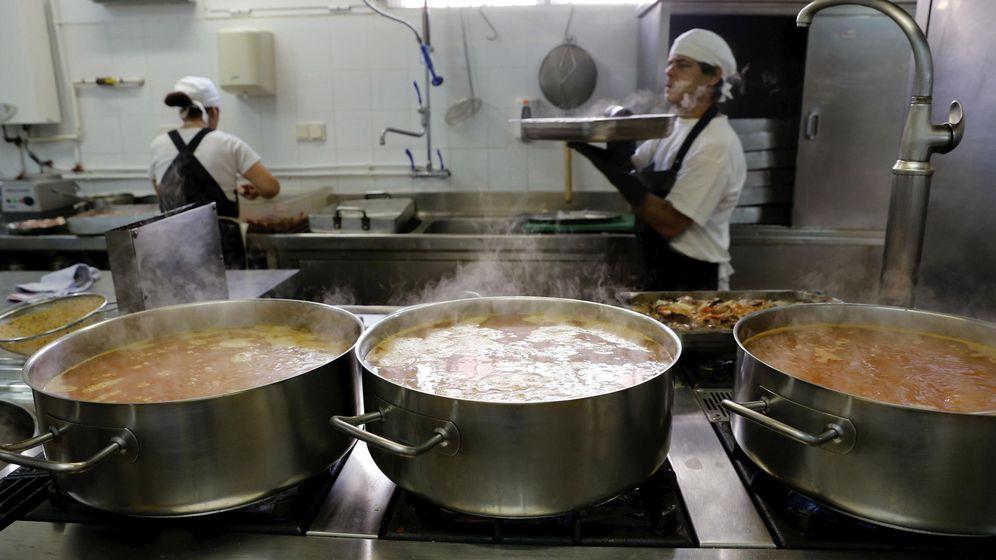 Foto: Comedor de un colegio. (EFE)