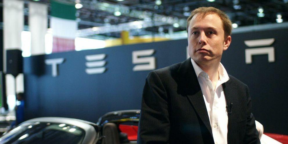 Elon Musk. (Tesla Motors)