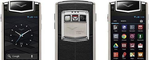 Foto: Vertu Ti, el móvil de los sibaritas (o de los horteras)