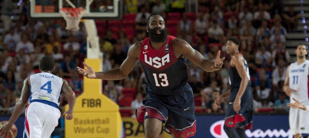 Foto: Harden ha sido uno de los líderes del USA Team (EFE).