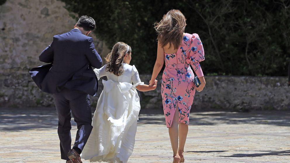 Paula y Bustamante 'despixelan' a su hija Daniella por su noveno cumpleaños