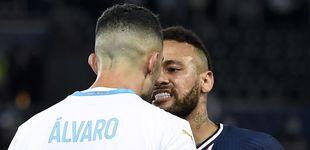 Post de Álvaro González, el futbolista de Vox a quien Neymar acusa de llamarle
