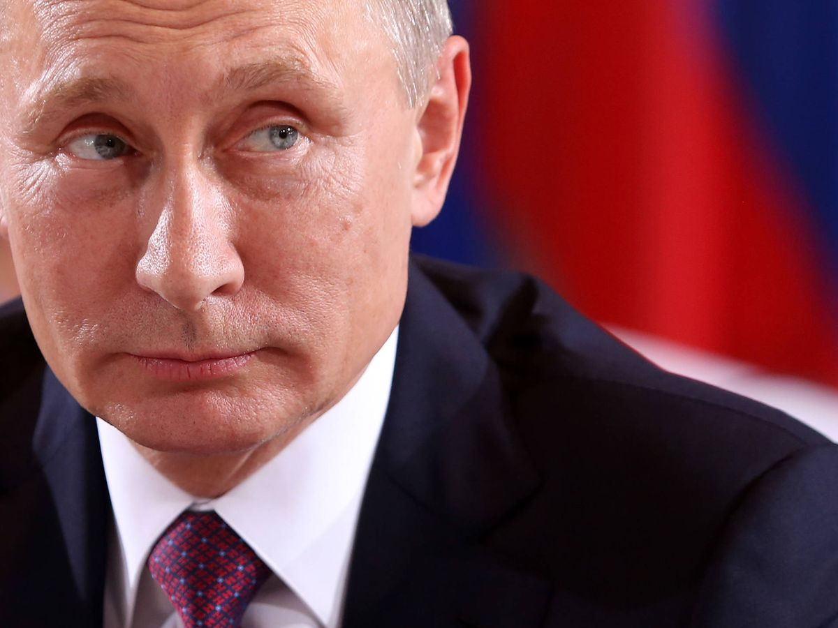 Foto: Vladimir Putin, siempre discreto. (Getty)