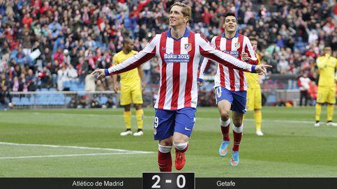 Torres marca el camino de un Atleti que tuvo 45 minutos para sestear