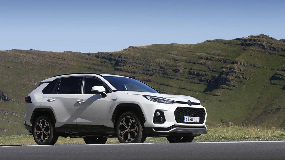 Suzuki Across, un SUV enchufable fruto del acuerdo con Toyota