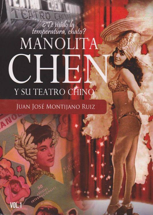 Foto: El libro de Juan José Montijano sobre Manolita Chen
