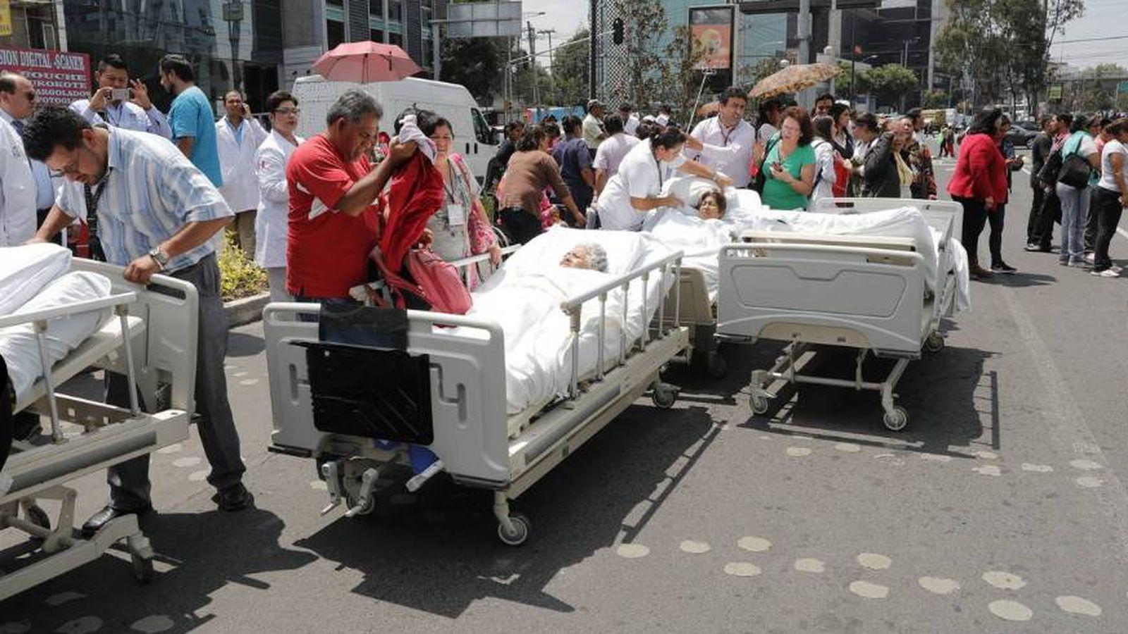 Foto: El sismo ha dejado muertos, heridos y daños materiales (Agencias)